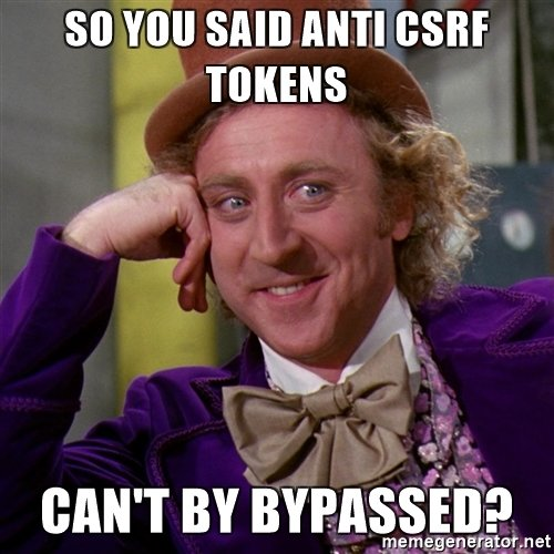 10 Methods to Bypass Cross Site Request Forgery (CSRF)