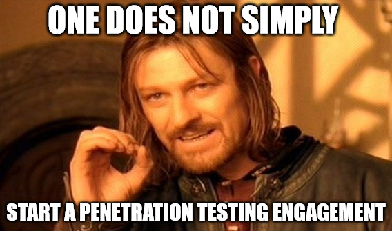 Questions to ask client before penetration testing engagement
